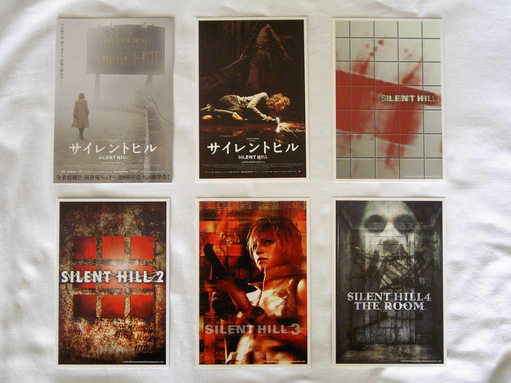 Silent Hill Complete Set Silent Hill Memories