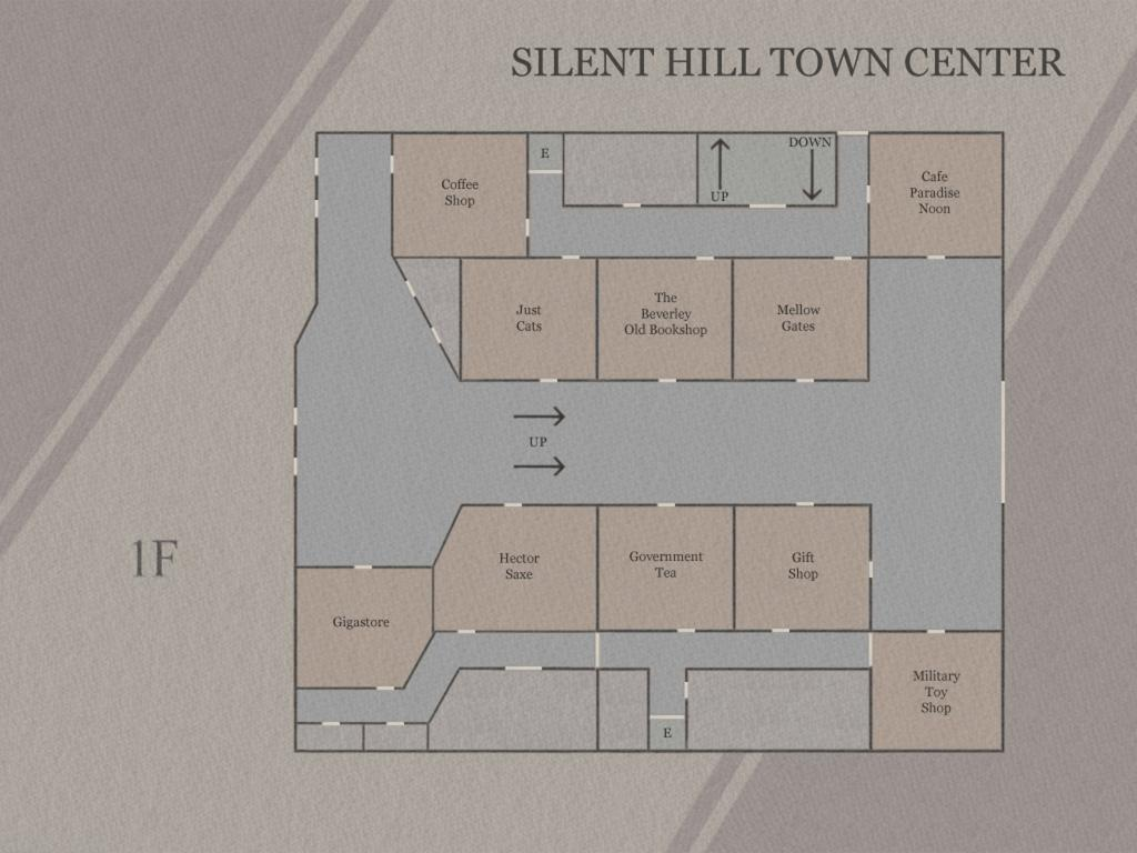 silent hill town map