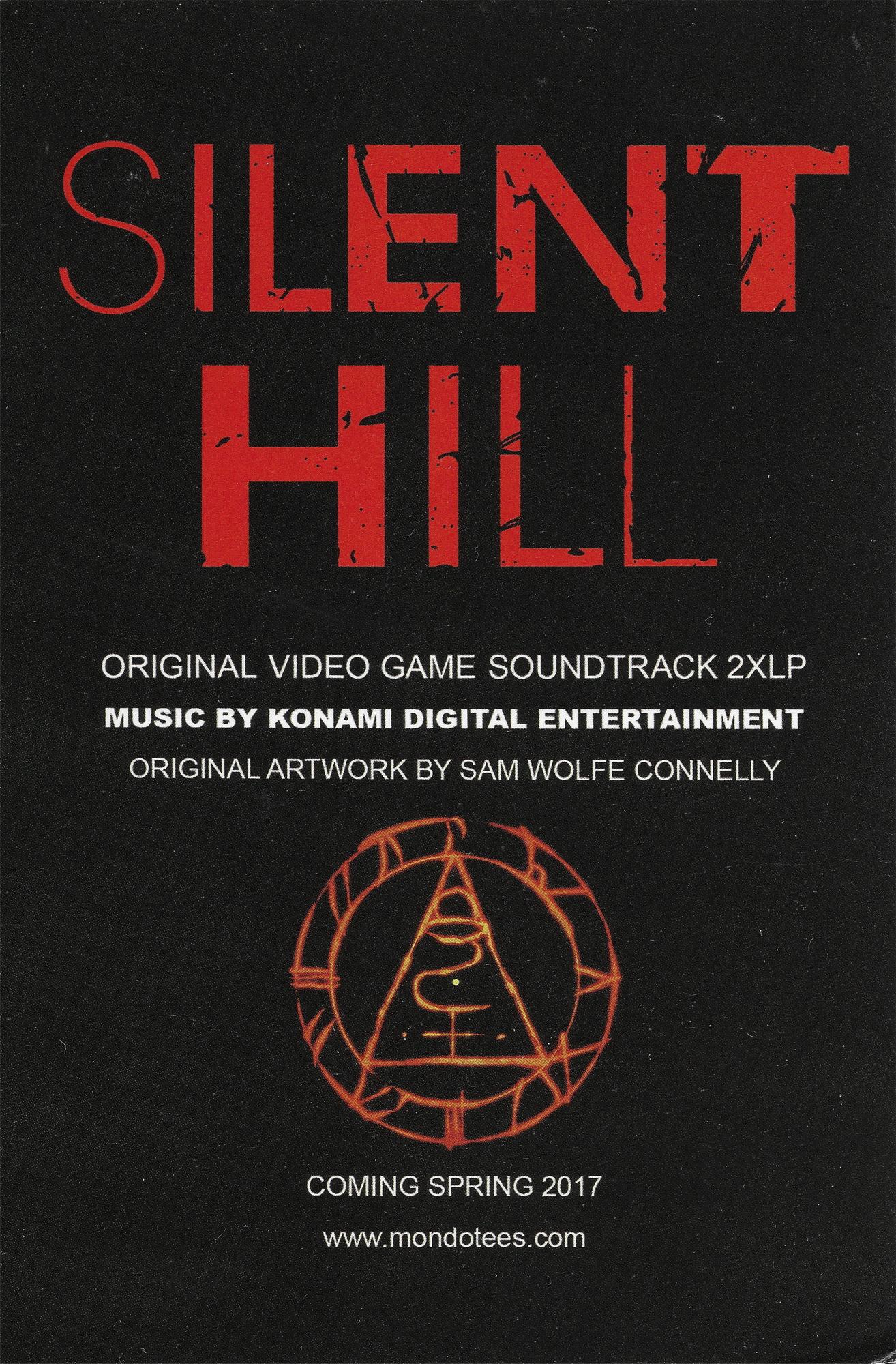 Silent Hill Original Soundtracks Ost Silent Hill Memories