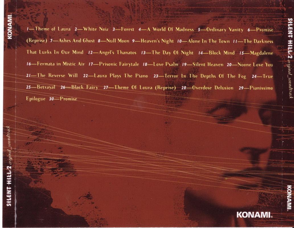 Silent Hill 2 Original Soundtracks Ost Silent Hill Memories