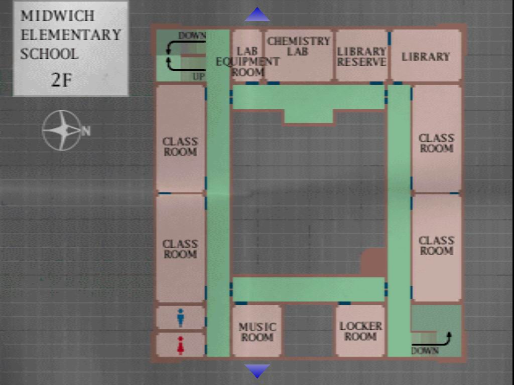 Map From Silent Hill