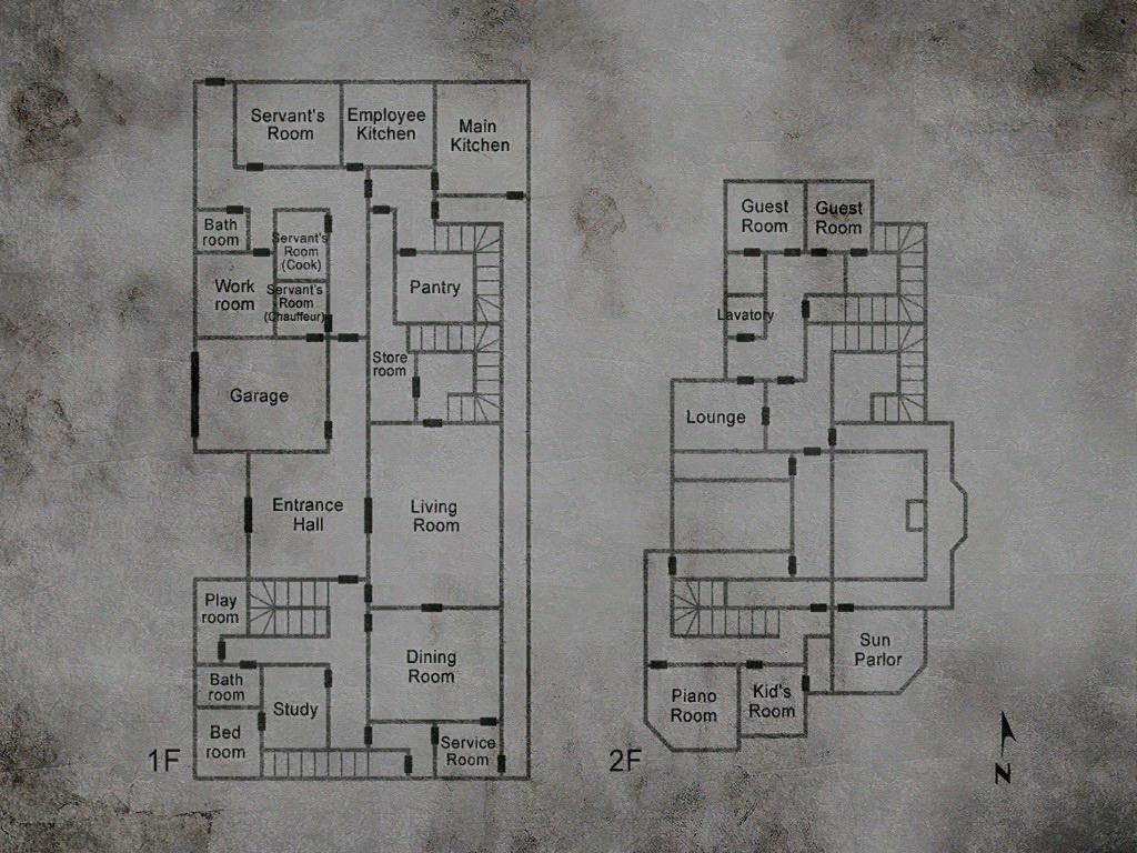 Silent Hill 2 Maps Silent Hill Memories