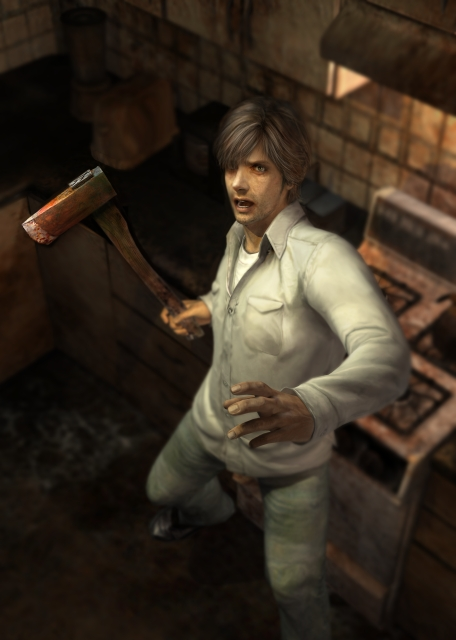 Silent Hill 4 The Room Concept Art Characters Silent