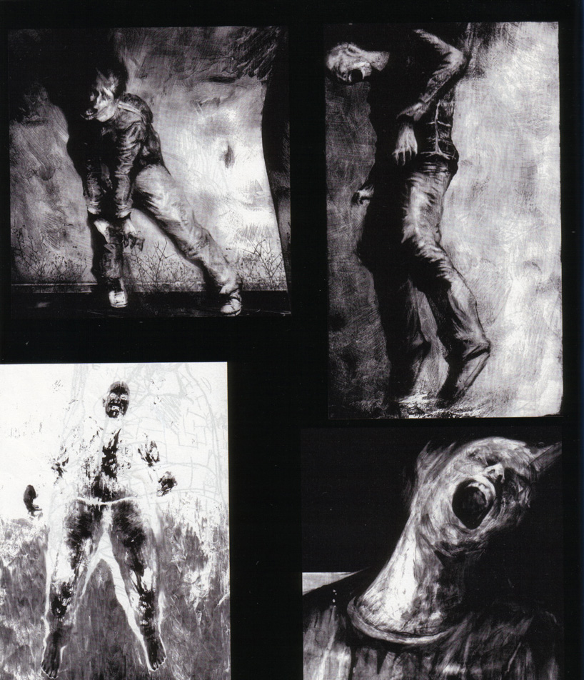 Silent Hill 4: The Room Concept Art: Creatures