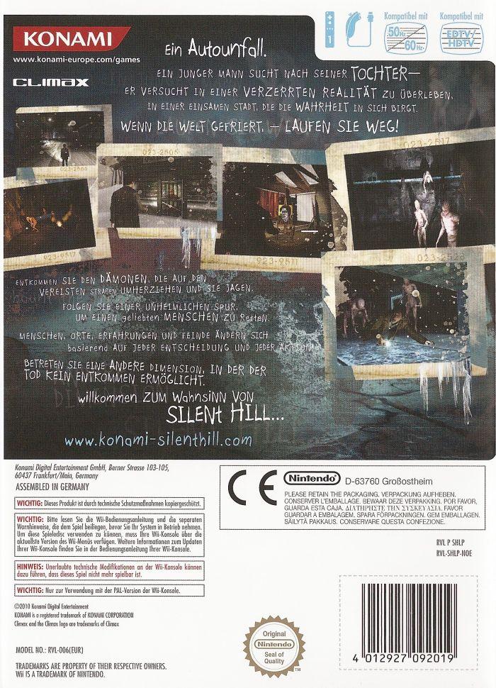 Silent Hill: Shattered Memories Versions - Silent Hill Memories