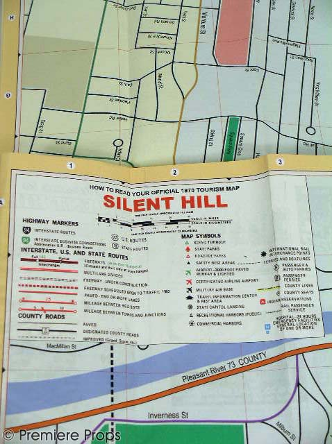Silent Hill Movie Props  Silent Hill Memories
