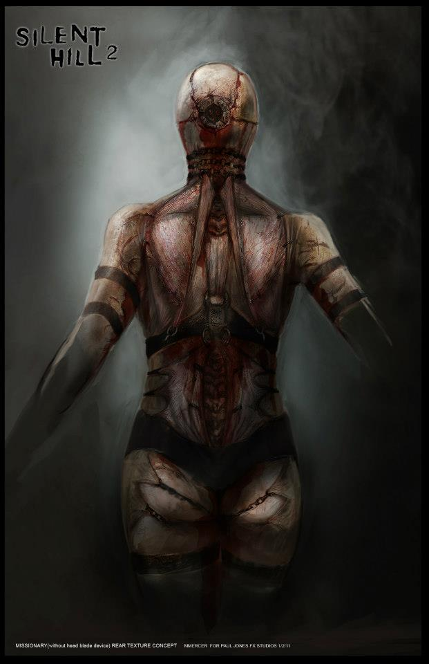 Silent Hill Revelation 3d Concept Art Silent Hill Memories
